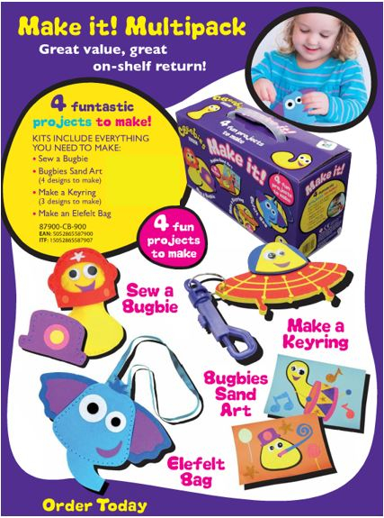 87900 CBEEBIES CRAFT KITS MULTIPACK