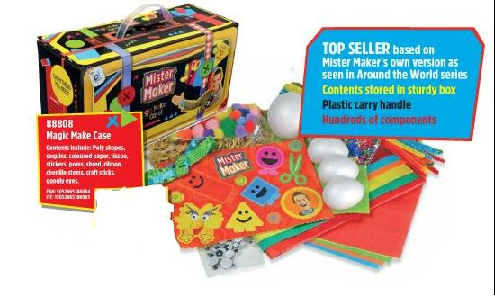 88808 MISTER MAKER MAGIC MAKE CASE