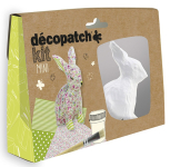 DECOPATCH MINI KIT RABBIT KIT020C