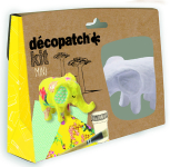 DECOPATCH MINI KIT ELEPHANT KIT029C