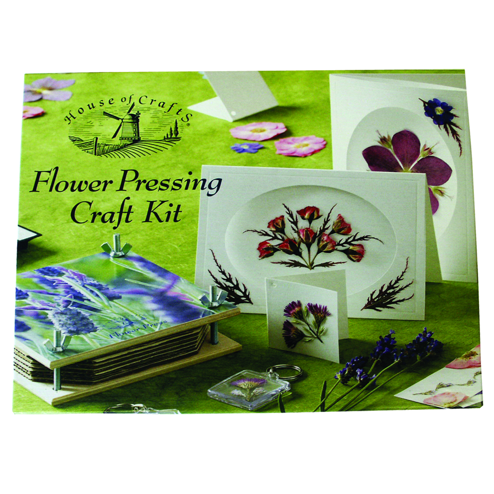 HOUSE OF CRAFTS FLOWER PRESSING KIT HC120