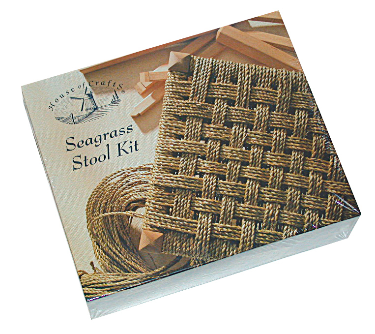 HOUSE OF CRAFTS SEAGRASS STOOL KIT HC210