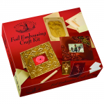HOUSE OF CRAFTS FOIL EMBOSSING CRAFT KIT