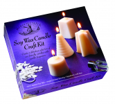 HOUSE OF CRAFTS SOY WAX CANDLE CRAFT KIT HC560