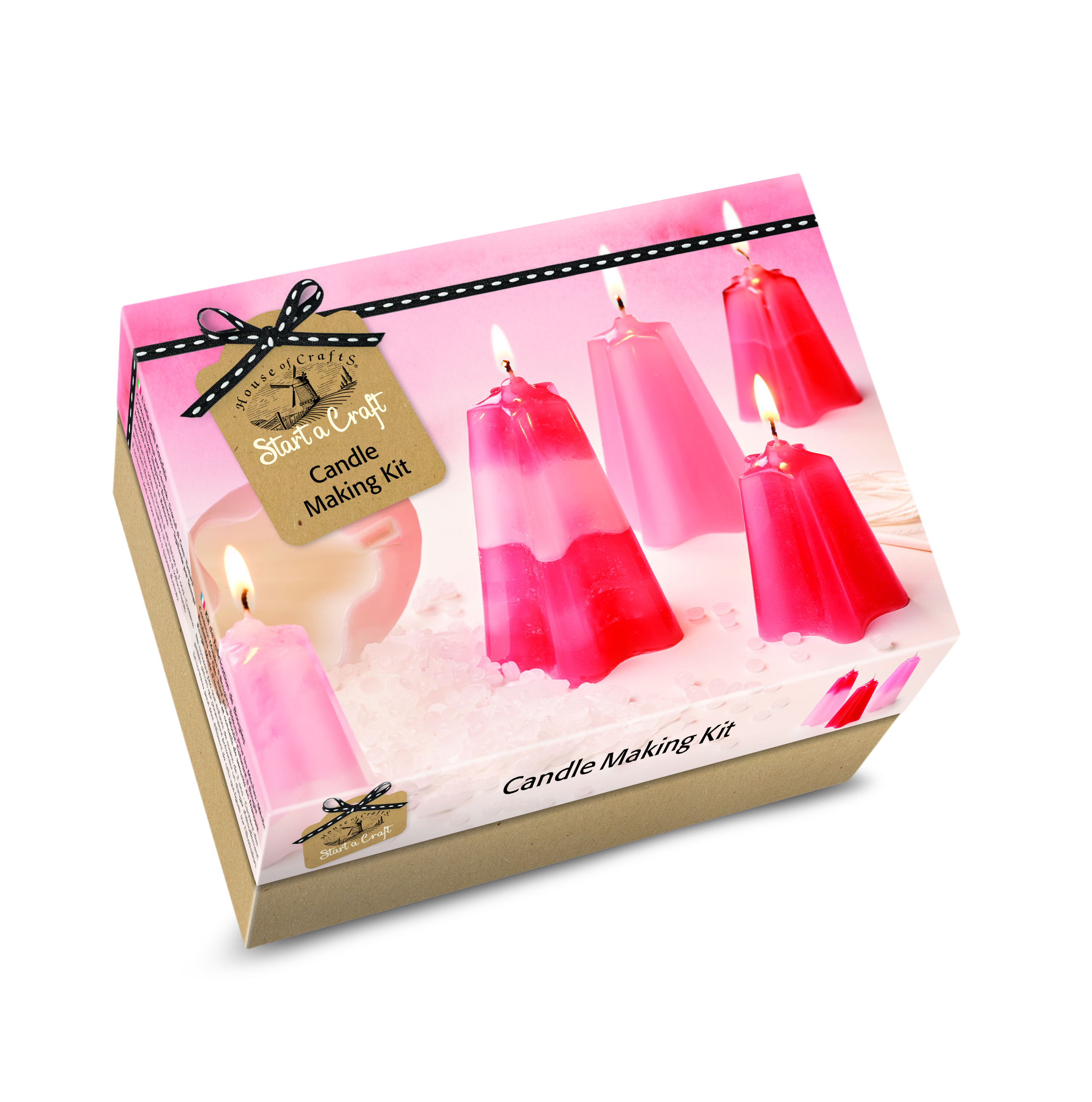 HOUSE OF CRAFTS CANDLE MAKING KIT SC010