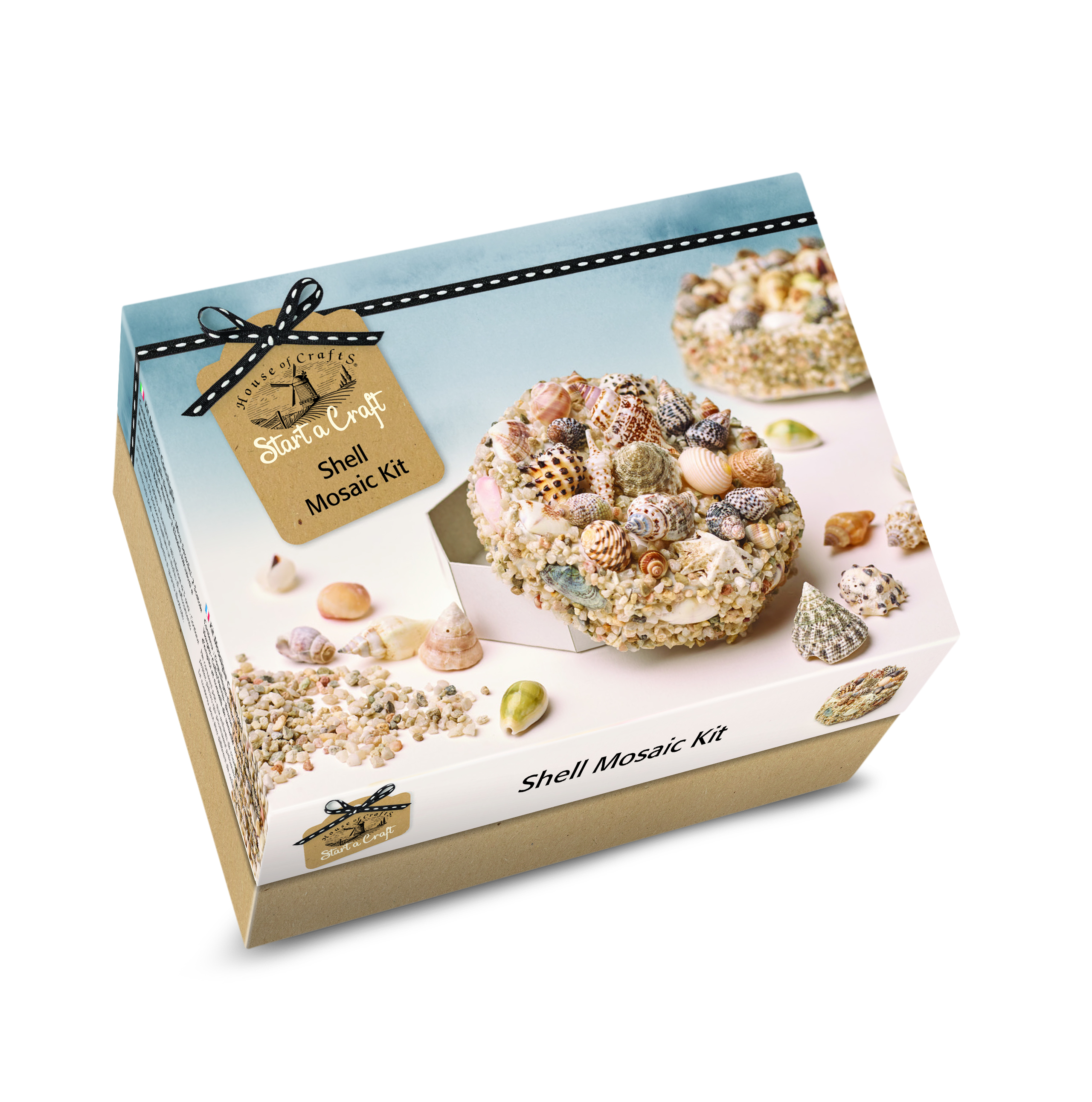 HOUSE OF CRAFTS SHELL MOSAIC KIT SC030