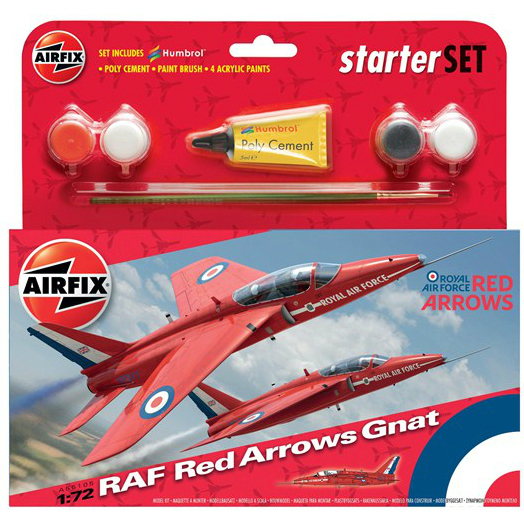 AIRFIX A55105 RED ARROW GNAT KIT