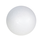 POLYSTYRENE SPHERES 50mm PACK OF 10 79550-10