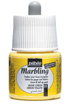 PEBEO MARBLING INK LEMON YELLO W 45ml 130001