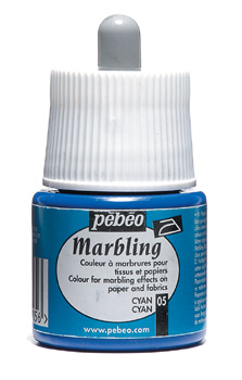 PEBEO MARBLING INK CYAN 45ml 130-005