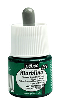 PEBEO MARBLING INK EMERALD GRE EN 45ml   130-006