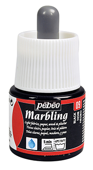 PEBEO MARBLING INK BLACK 45ml 130-009