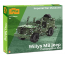 WILLYS MB JEEP IWM SET SMART FOX025.UK.CK