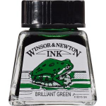WN DRAWING INK 14ml BRILLIANT GREEN 1005046