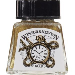 WN DRAWING INK 14ml GOLD 1005283