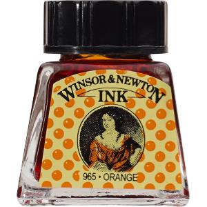 WN DRAWING INK 14ml ORANGE 1005449