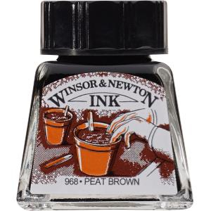WN DRAWING INK 14ml PEAT BROWN 1005469