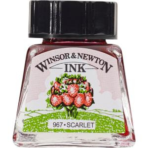 WN DRAWING INK 14ml SCARLET 1005601