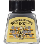 WN DRAWING INK 14ml SILVER 1005617