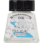 WN DRAWING INK 14ml WHITE 1005702