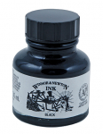 WN DRAWING INK LARGER BLACK 30ml INDIAN INK Spider 1010030