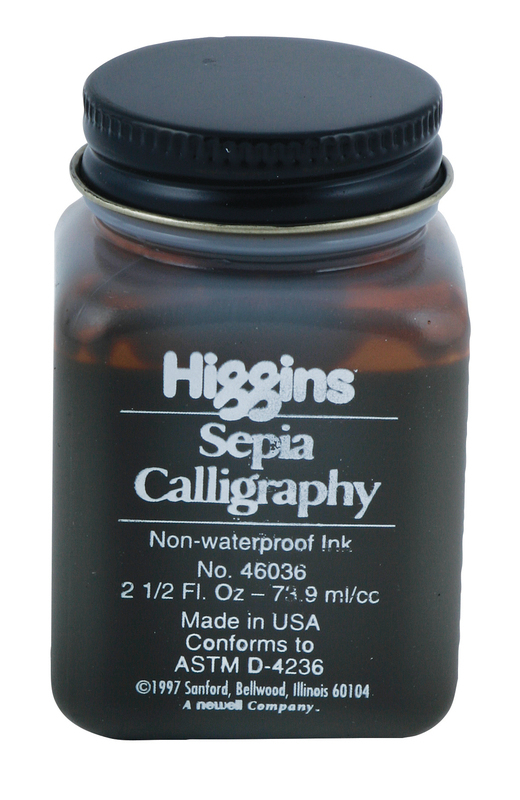 HIGGINS CALLIGRAPHY SEPIA 74ml NON-WATERPROOF INK