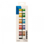 REEVES POSTER COLOUR SET - 12X22ml 8891100