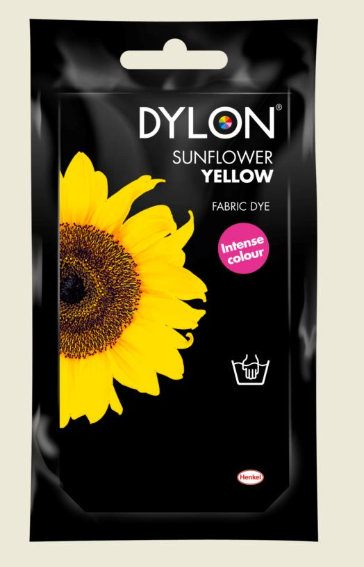 DYLON HAND DYE SACHET 05 SUNFLOWER YELLOW