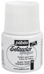 PEBEO SETACOLOR OPAQUE 45ml - TITANIUM WHITE 295010