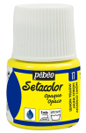 PEBEO SETACOLOR OPAQUE 45ml - LEMON YELLOW 295017