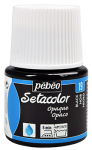 PEBEO SETACOLOR OPAQUE 45ml - BLACK LAKE 295019
