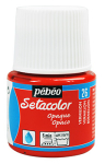 PEBEO SETACOLOR OPAQUE 45ml - VERMILLION 295026