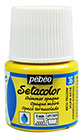 PEBEO SETACOLOR RICH YELLOW OPAQUE SHIMMER 45ml 295036