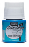 PEBEO SETACOLOR OPAQUE 45ml - SHIMMER ELECTRIC BLUE 295069