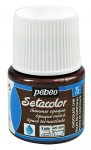 PEBEO SETACOLOR OPAQUE 45ml - SHIMMER CHOCOLATE CHIP 295075