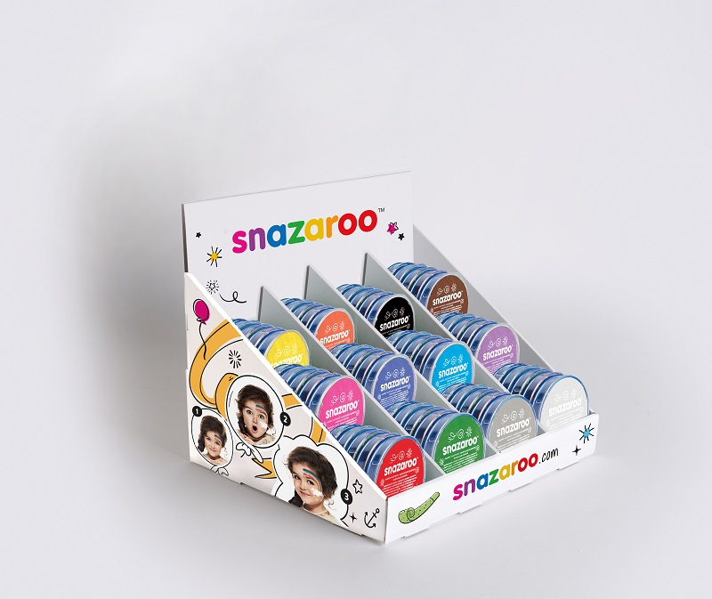 SNAZAROO COUNTER TOP DISPLAY - 60 ASSORTED COLOURS 1198510