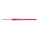 SNAZAROO MEDIUM ROUND BRUSH RED 1192010