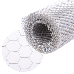 ALUMINIUM COARSE WIRE MESH 5mm X 10mm HOLES, 3m x 0.5m