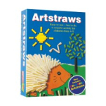 ARTSTRAWS - BLUE BOX SHORT 220 STRAWS ASSORTED COLOURS