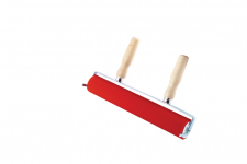 ABIG LINO ROLLER WITH 2 WOODEN HANDLES & HINGE