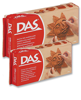 DAS 500g TERRACOTTA SMALL 3871