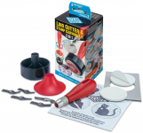 3 IN 1 LINO CUTTER & STAMP CARVING KIT - 5 CUTTERS  L5B2D