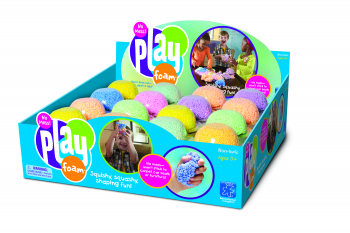 PLAYFOAM® COUNTERTOP DISPLAY 64 ASSORTED EI-1925