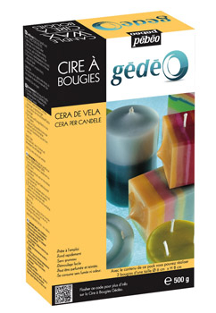 GEDEO CANDLE WAX 500g 766221