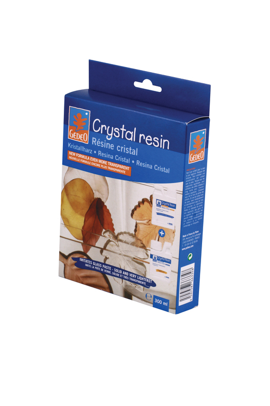 GEDEO CRYSTAL RESIN 300ml KIT 766334