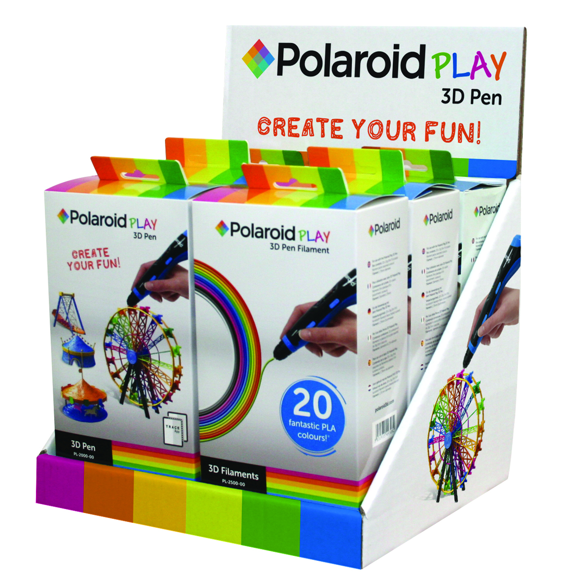 POLAROID PLAY 3D PEN CDU DISPLAY