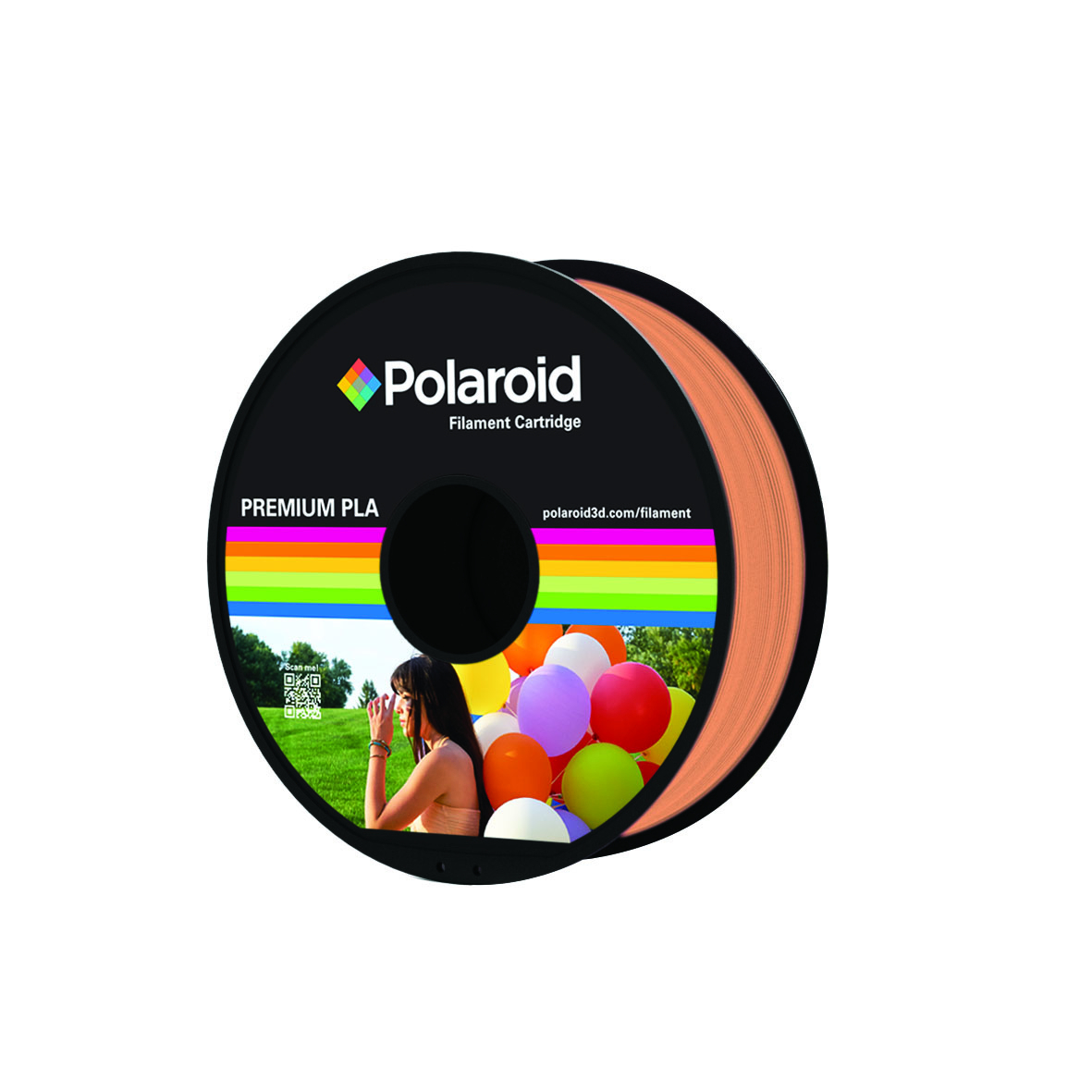 ORANGE POLAROID PREMIUM PLA FILAMENT 1kg PL-8004-00