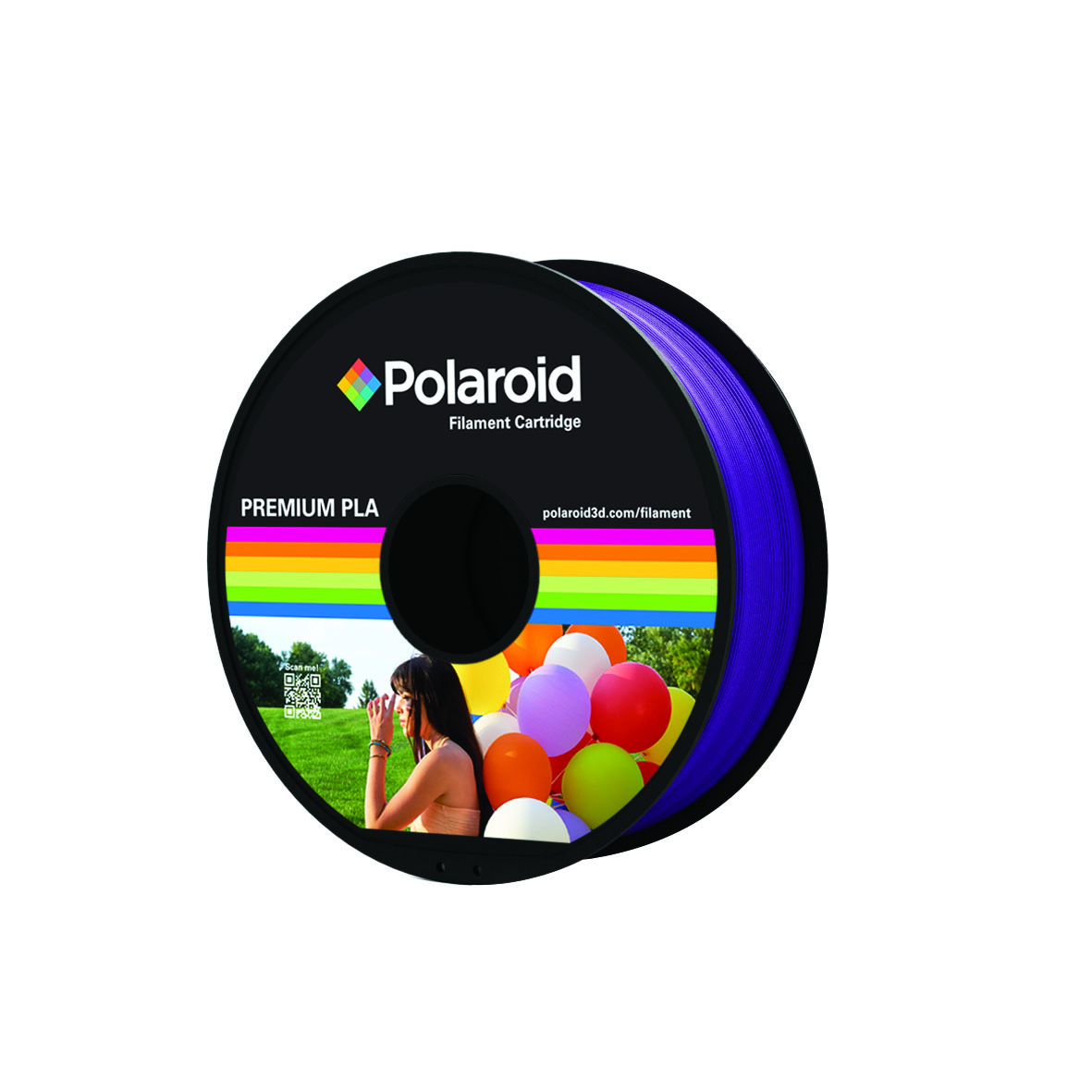 PURPLE POLAROID PREMIUM PLA FILAMENT 1kg PL-8006-00
