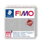 FIMO LEATHER-EFFECT DOVE GREY 8010-809