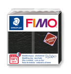 FIMO LEATHER-EFFECT BLACK 8010-909